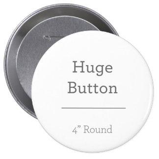 あなた自身のボタンを設計して下さい 10.2CM 丸型バッジ