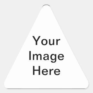 あなた自身の三角形のステッカーを作成して下さい 三角形シール