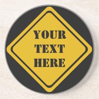 あなた自身の交通標識 コースター