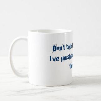 あなた自身の保護のため コーヒーマグカップ