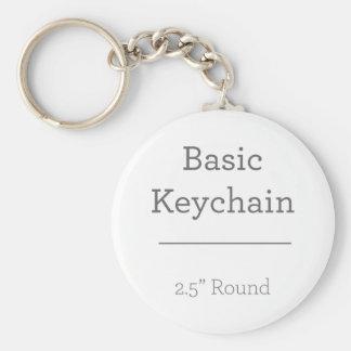 あなた自身の円形の写真Keychainを設計して下さい キーホルダー