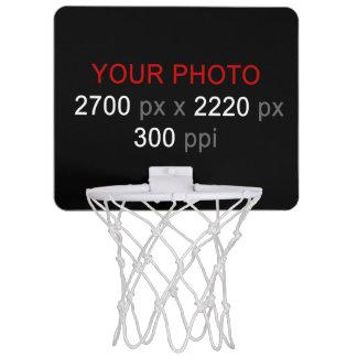 あなた自身の写真のカスタムなバスケットボールたがを作成して下さい ミニバスケットボールネット