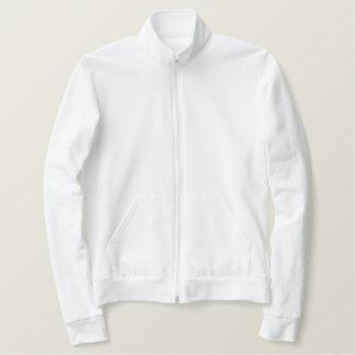 あなた自身の刺繍されたジャケットを作って下さい ファスナージャケット