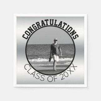 あなた自身の卒業|の名前入りな写真を作成して下さい スタンダードカクテルナプキン
