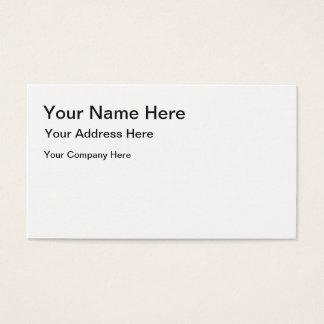 あなた自身の名刺を作成して下さい 名刺