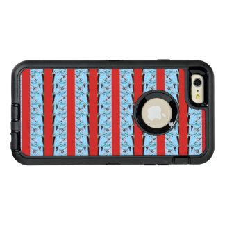 あなた自身の夏の青い波を最も遅く設計します作成して下さい オッターボックスディフェンダーiPhoneケース