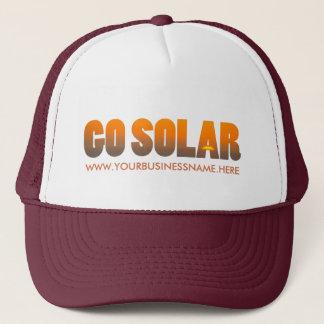 あなた自身の太陽エネルギービジネス帽子を作って下さい キャップ