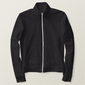 あなた自身の女の子に大学フリーストラックジャケットをして下さい! 刺繍入りジャケット