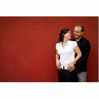 あなた自身の婚約のフォトスカルプチャーを作成して下さい 写真彫刻(台付き)