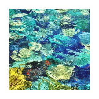 あなた自身の抽象美術12 x12を作成して下さい キャンバスプリント