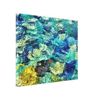 あなた自身の抽象美術14 x 11を作成して下さい キャンバスプリント