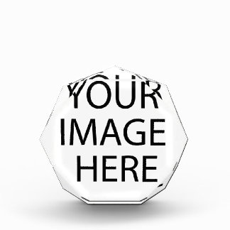 あなた自身の文字およびデザインを作成して下さい: -) 表彰盾