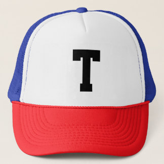 あなた自身の文字またはイニシャルのトラック運転手の帽子に入って下さい キャップ
