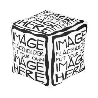 あなた自身の正方形のPoufを設計して下さい プーフ