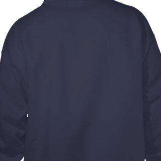 あなた自身の濃紺を設計して下さい フード付きトレーナー