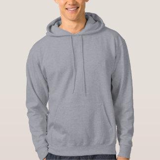 あなた自身の灰色を設計して下さい フード付きプルオーバー