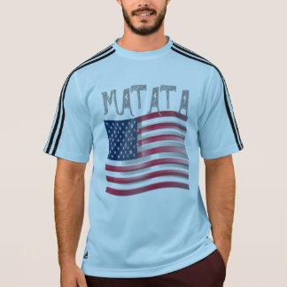 あなた自身の米国Hakuna Matataを作成して下さい Tシャツ