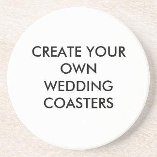 あなた自身の結婚式の好意のコースターを作成して下さい ドリンク用コースター