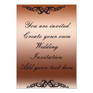 あなた自身の結婚式招待状2の招待状を作成して下さい 12.7 X 17.8 インビテーションカード