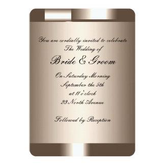 あなた自身の結婚式招待状2を作成して下さい 12.7 X 17.8 インビテーションカード
