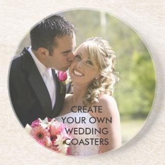 あなた自身の結婚記念日のコースターを作成して下さい コースター