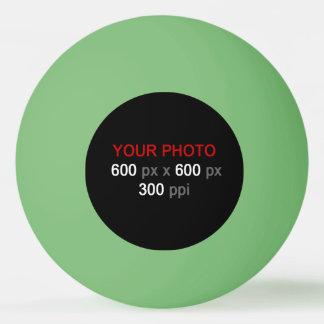 あなた自身の緑のピンポン球を作成して下さい 卓球ボール