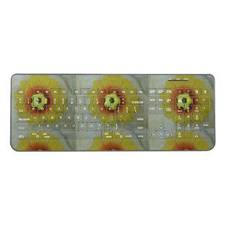 あなた自身の美しい夏期のおもしろいな賭博を作成して下さい ワイヤレスキーボード