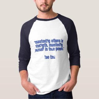 あなた自身の習得 Tシャツ