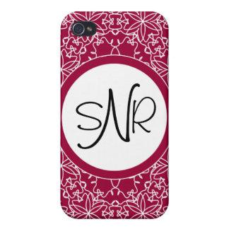 あなた自身の色の敏感な花柄Iを選んで下さい iPhone 4/4S CASE