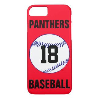 あなた自身の色の濃紺の野球の電話箱を選んで下さい iPhone 8/7ケース