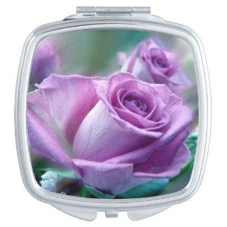 あなた自身の花のコンパクトの鏡を作って下さい