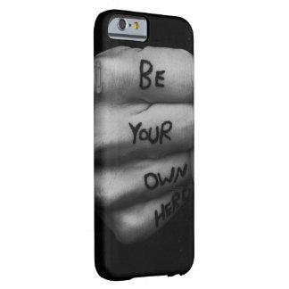 あなた自身の英雄の例があって下さい BARELY THERE iPhone 6 ケース
