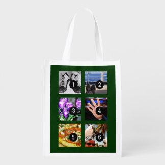 あなた自身の記念品を作るあなたの写真の6 エコバッグ