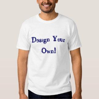 あなた自身の銀を設計して下さい T シャツ