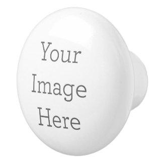 あなた自身の陶磁器のノブを作成して下さい セラミックノブ