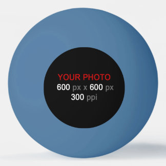 あなた自身の青いピンポン球を作成して下さい 卓球ボール