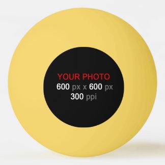 あなた自身の黄色いピンポン球を作成して下さい 卓球ボール