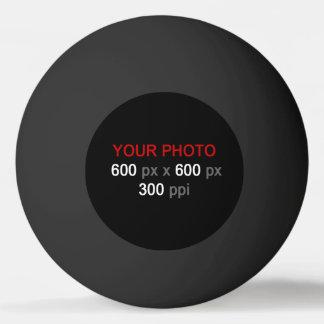 あなた自身の黒いピンポン球を作成して下さい 卓球ボール