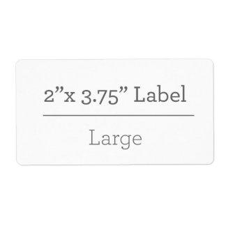 あなた自身の8.5 x 11ラベルを作って下さい 発送ラベル