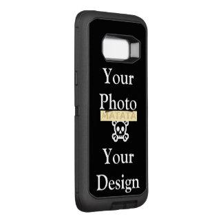 あなた自身のHakuna Matataの美しい視野のデザインを作成して下さい オッターボックスディフェンダーSamsung Galaxy S8+ ケース