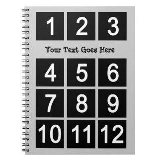 あなた自身のInstagramの文字のノートを作成して下さい ノートブック