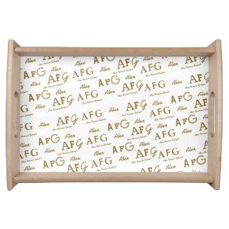 あなた自身のname&initialsのカスタムパターンを作成して下さい