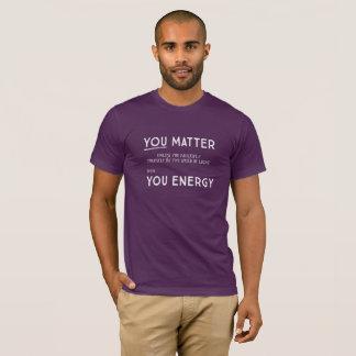 あなた自身をによって…増加しなければ重要です Tシャツ