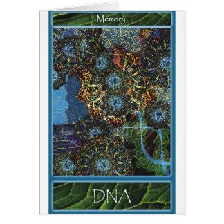 あなた自身をカード支えて下さい: DNA カード