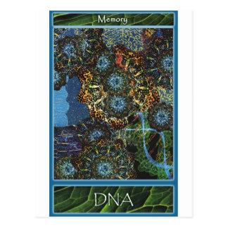あなた自身をカード支えて下さい: DNA ポストカード