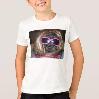あなた自身をティー表現して下さい Tシャツ