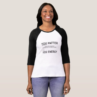 あなた自身を増加しなければ重要です Tシャツ