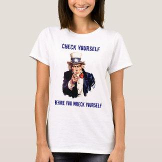 あなた自身を点検して下さい Tシャツ