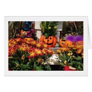 """""""あなた""""のための落下""""あなた""""のための秋の写真 グリーティングカード"""