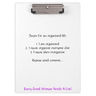 「あらゆるよい女性リスト」のクリップボード必要とします クリップボード